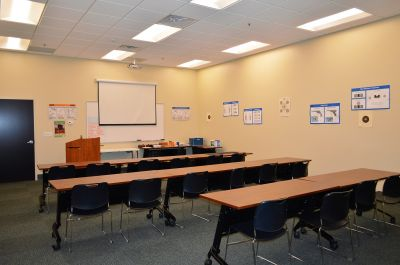 Briefing and workshop room