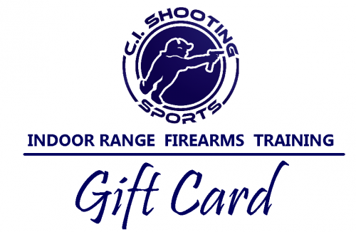 Purchase a firearms range shooting gift card today.
