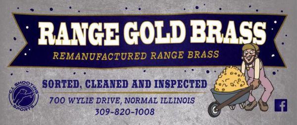 Order range brass from a local shooting range