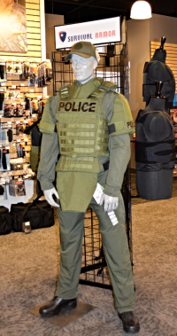 survival armor vest and other safety uniforms